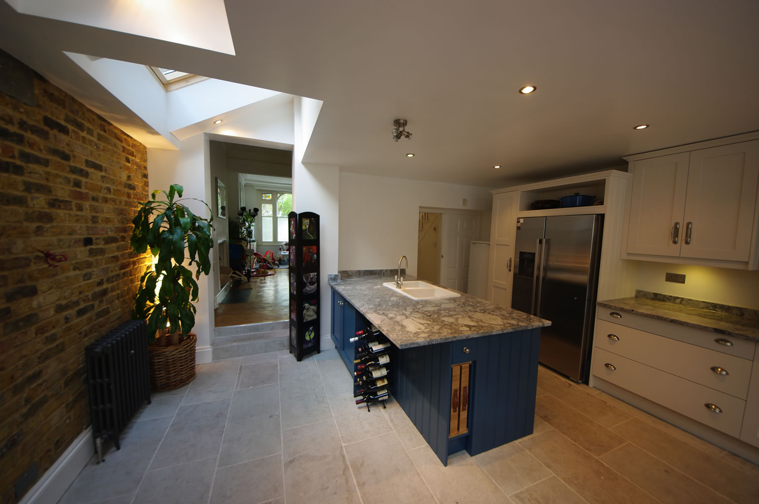 Manu and Fabri SW6 side and rear kitchen extension