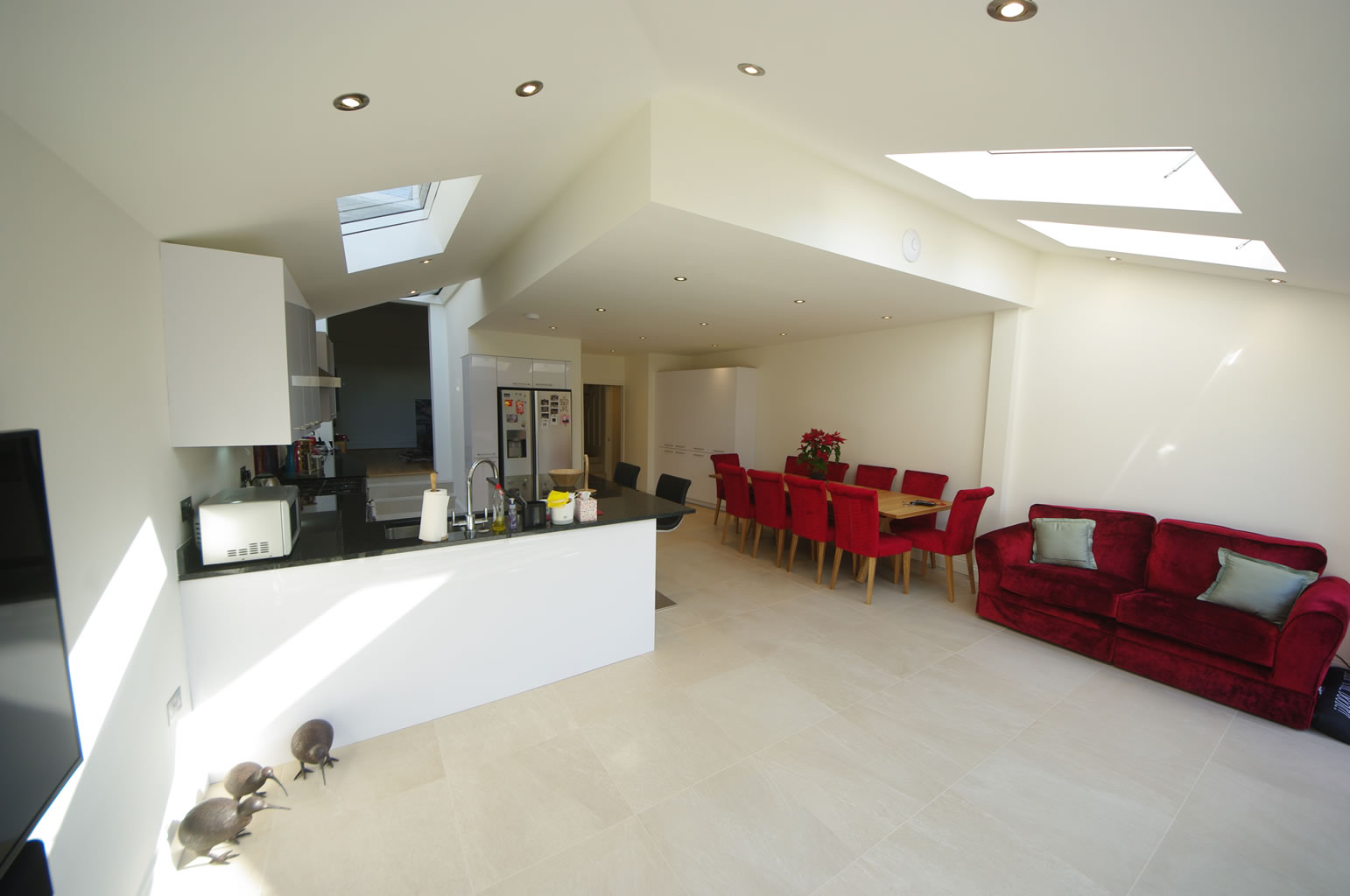 David and Michelle SW17, Rear Kitchen Extension